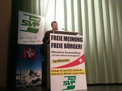 Im Einsatz für die freie Meinung